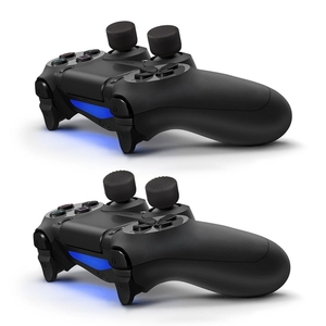 Image 4 - 8pcs Enhanced Analog ThumbStick Joystick Grips Extra High Enhancements Cover Caps For PS4/3/2 For XBOX ONE/360 Game Controller