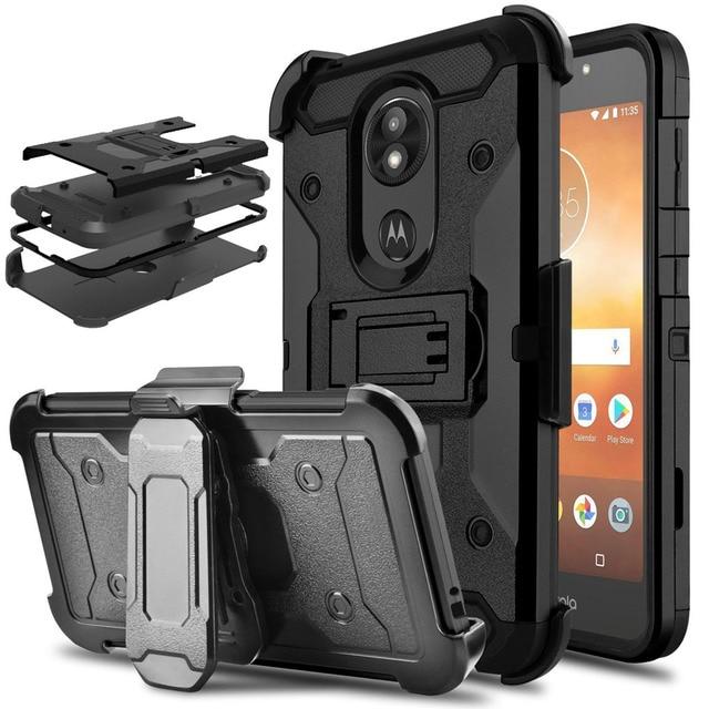 big sale 5c9b0 8fcd6 For Motorola Moto E5 Play / Moto E5 Cruise Case Heavy Duty Hybrid ...