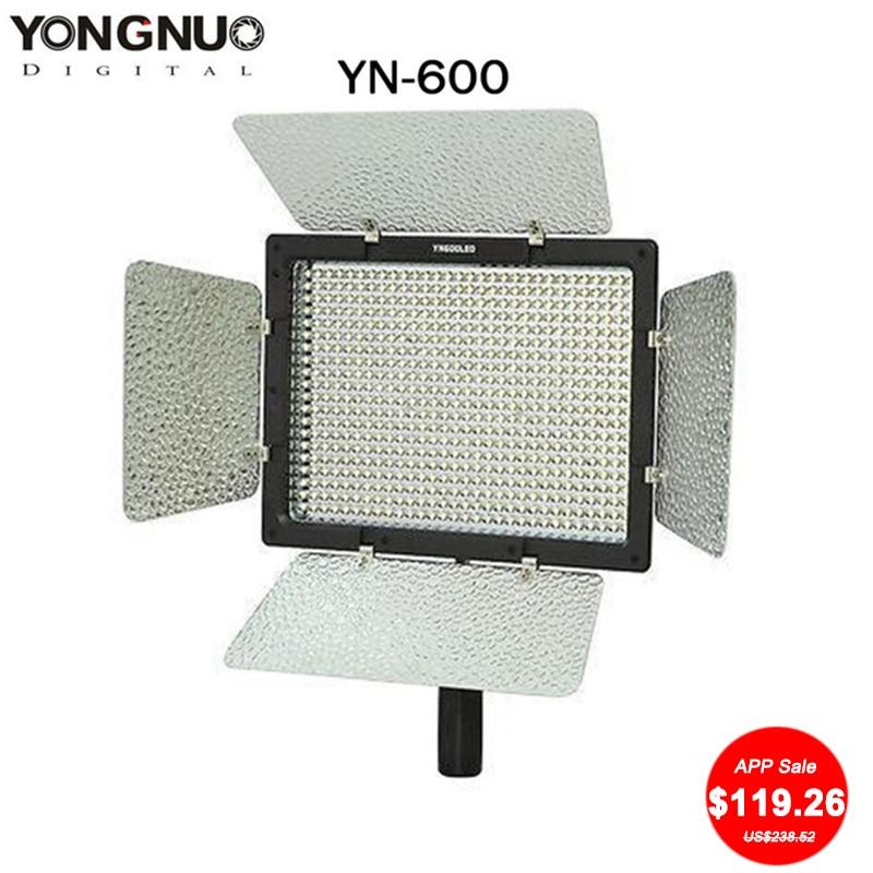 YONGNUO YN-600 YN600 Luz LED 5500 K Temperatura de color Ajustable - Cámara y foto