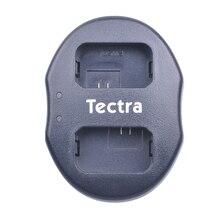Tectra LP-E6 LP E6 LP-E6N на 2-портный Dual Порты и разъёмы USB Зарядное устройство для цифровой однообъективной зеркальной камеры Canon EOS 5D 5D2 5DS R Mark II 2 III 3 6D 60D 60Da 7D 7D2 7DII 70D 80D