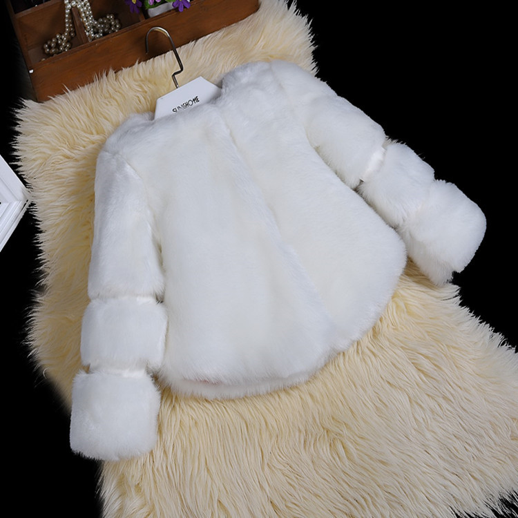 fashion kids girls faux fur coat,trendy design autumn winter children fur outerwear jacket,warm child thickening clothing
