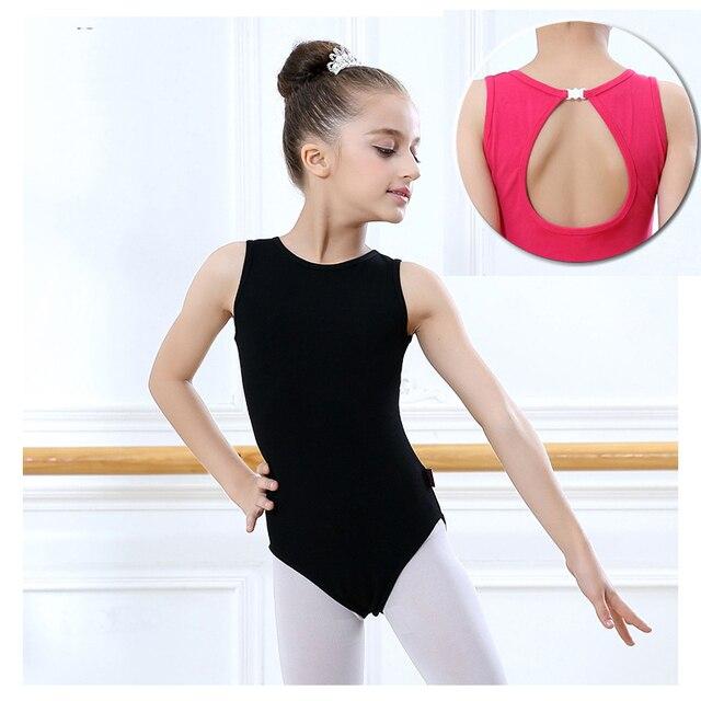10fda37ba Girls Ballet Leotard Sleeveless Basic Ballet Dancewear Toddler ...