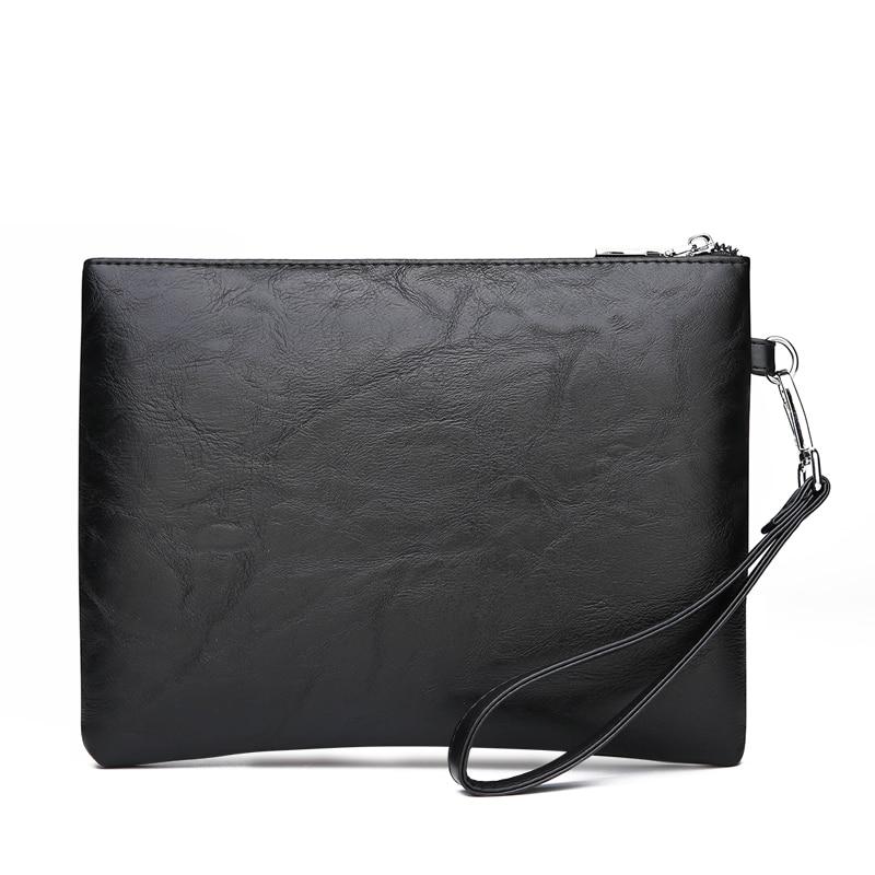 FEIDIKABOLO Men Wallets Long Zipper Coin Purse For Men Clutch Wallet Men Handy Bag Male Vintage Large Wallet Carteira Masculina in Wallets from Luggage Bags