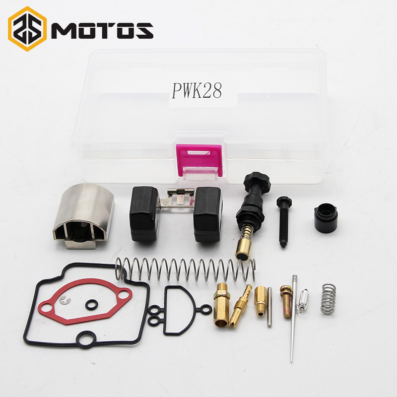 ZS MOTOS Parts 24 26 28 30 32 34mm PWK KEIHIN Motorcycle Carburetor Universal Repair Kit Spare Jets 20lot/Sets One Pack