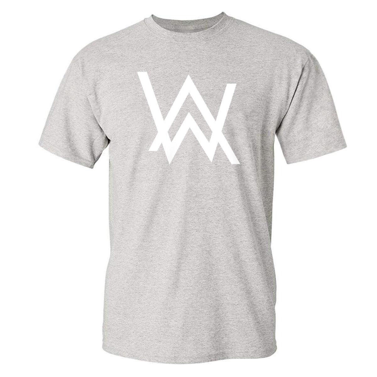 Tops Tee Man Summer Pure Cotton Printed Allen Walker Hip Hop Streetwear Hip Hop Summer Men's T-shirts New Arrival Tees Shirts