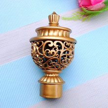 купить 2015 promotionFor 28MM Rod Vintage Tapestries Plug Head Curtain Rome Rod Head Accessories Decorative Head дешево