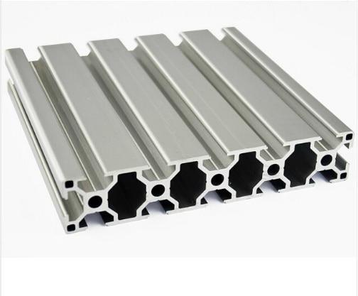 30150 Aluminum Extrusion Profile European Standard White Length 350mm Industrial   Workbench 1pcs