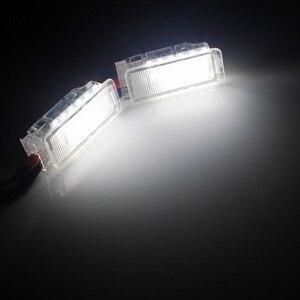 Image 5 - ANGRONG 2x белые светодиодный лампы для багажника, ящика для перчаток, светильник щение салона для Peugeot 206 207 306 307 3008 406 407 5008 607 806