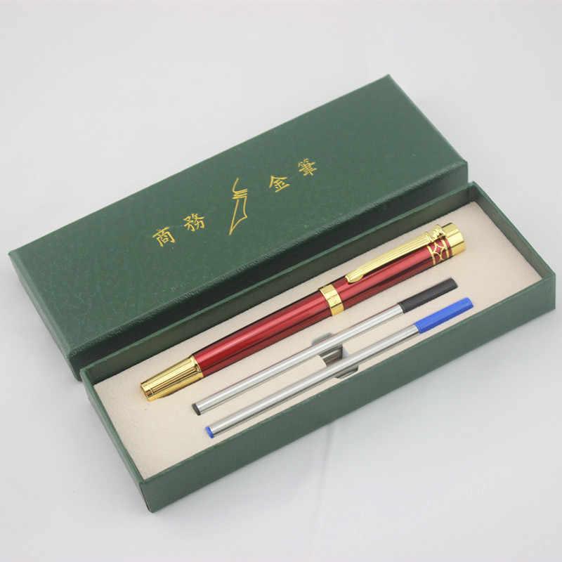 Di alta Qualità Dikawen Roller Penna del Regalo Set di Scrittura Liscia Ufficio Affari Penne Segno il Grande Regalo di Natale per Gli Amici