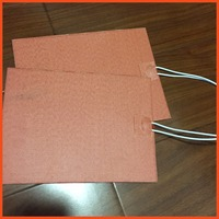 150 200mm 200W 230V Large Car Engine Heater Flexible Silicone Heater Design Custom Silicone Heating Pad