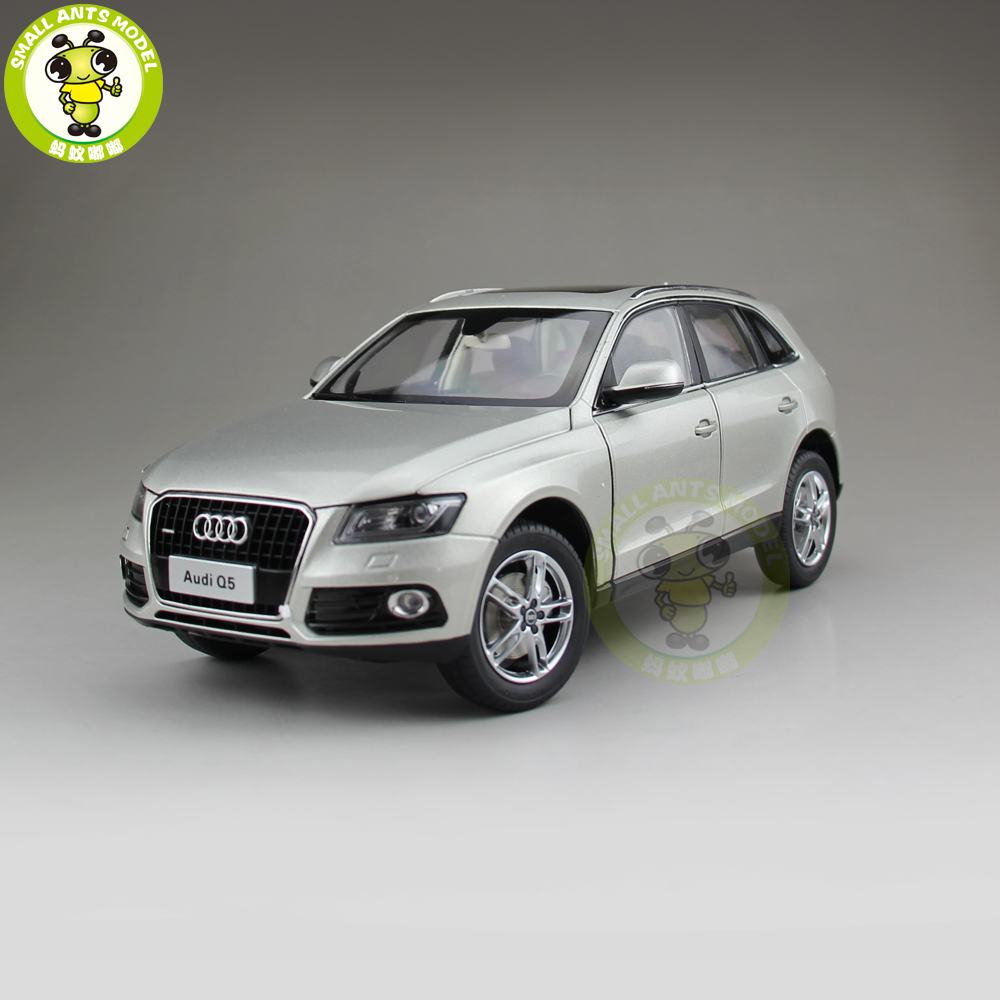 1/18 Audi Q5 SUV Diecast Metal Car SUV Model Toy Boy Girl Kids Gift Collection Gold 1 18 bjc jeep 212 with cannon army military suv diecast alloy metal suv car model toy boy girl birthday gift collection hobby