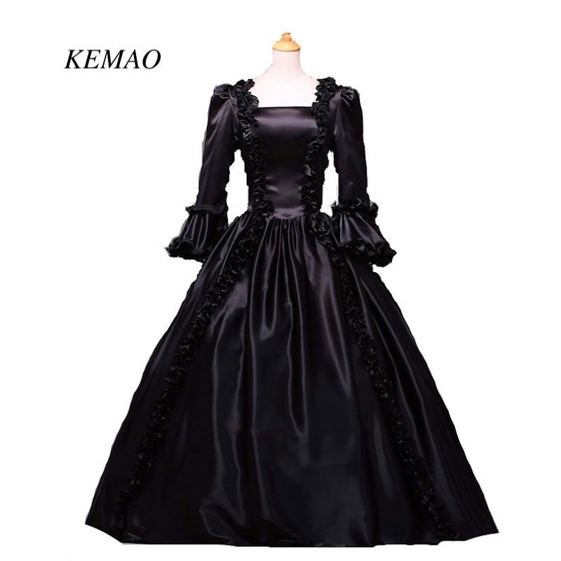 Black Masquerade Gothic Ball Gowns PratyDress-in Bridesmaid Dresses ...