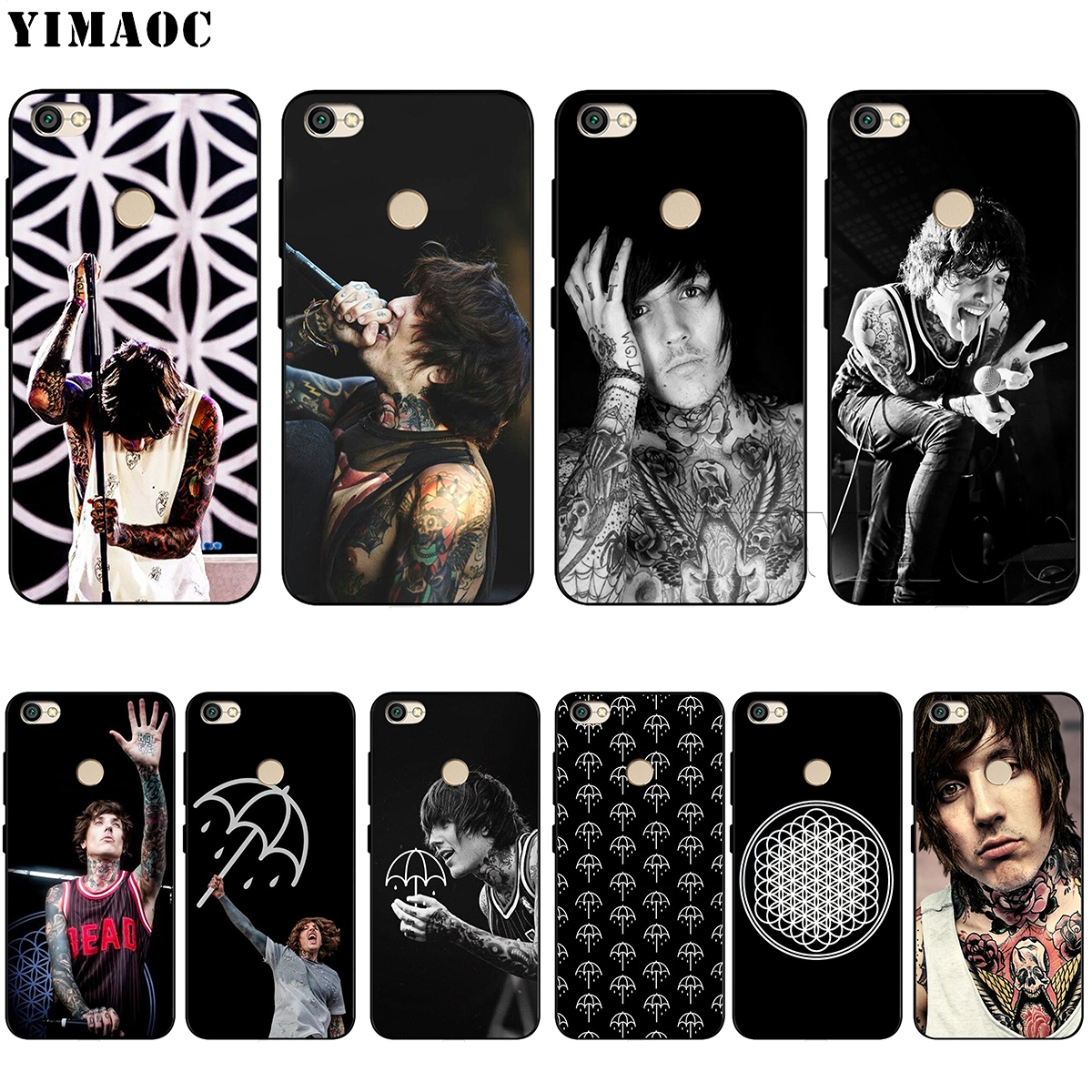 YIMAOC Oliver Sykes BMTH Silicone Case for Xiaomi Redmi Note 4 4X 4A 5 5A 6 6A MI A1 A2 mi6 mi 8 Pro Lite Prime Plus f1