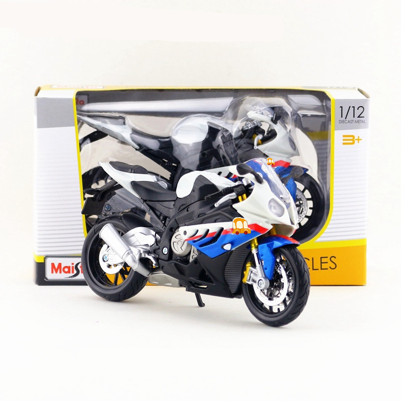 New Miniature Maisto 1//18 Scale BMW S 1000 RR Motorcycle Diecast Model Toys