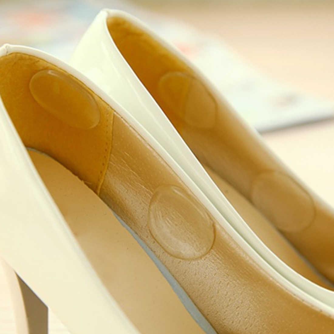 Anti-slip/Kalınlaşmak Önlemek Düşen Kadınlar Bayanlar Kızlar Silikon Jel Ayakkabı Taban Uçlar Pad/Yastık Ayak Bakımı topuk ped Bayanlar için