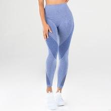 VVUES Women Energy Seamless Tummy Control Yoga Pants Patchwork Super Stretchy Gym Tights High Waist Sport Leggings Running Pants цена 2017