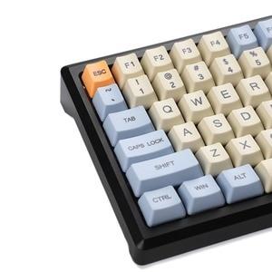 Image 3 - YMDK 염료 승화 96 84 ANSI ISO Keyset OEM 두꺼운 PBT Keycap MX 기계식 키보드 멜로디 96 KBD75 FC980M Keychron