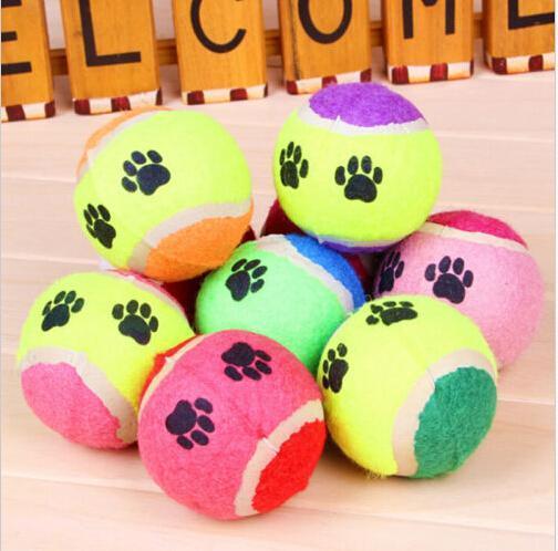 1 Stks Nieuwe Huisdier Speelgoed Bal Hond Chew Speelgoed Tennisballen Run Fetch Throw Play Toy Kauwspeeltje Hond Levert Groothandel