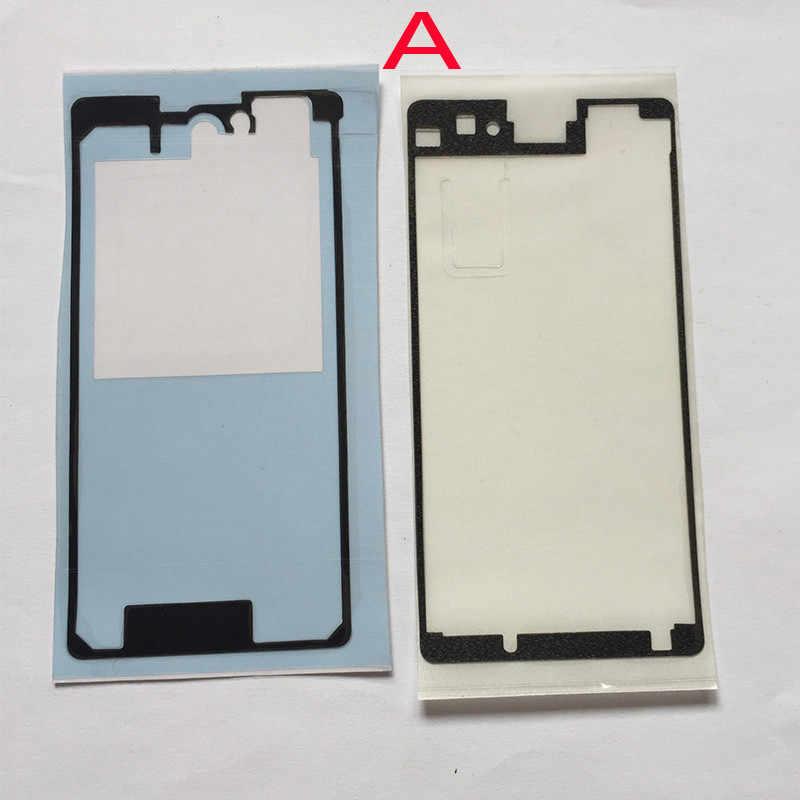 3 pièces/ensemble nouveau LCD plaque milieu cadre couverture arrière colle autocollant robinet pour Sony Xperia Z1 Compact Z1 Mini D5503 adhésif cadre autocollants