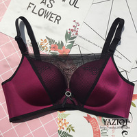 QA177 Lace Boob Tube Top Adjustable Wireless Sexy Push Up Bras For Women Comfortable Underwear