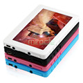4.3 inch touch screen 8g MP4 players, usb 2.0, with e-book reading video game player function free shipping