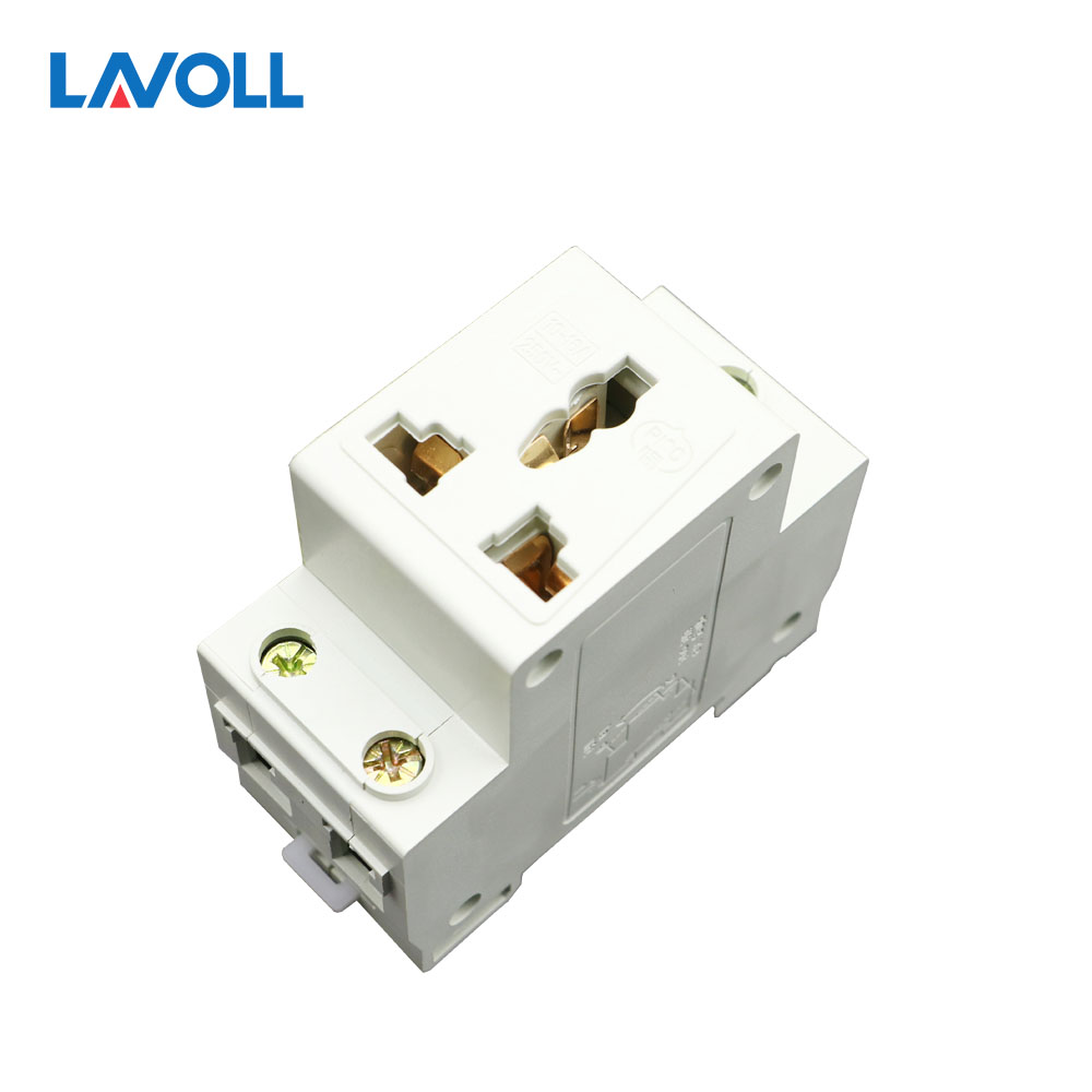 цена на FREE SHIPPING AC30 SERIES three phase socket Plug 35mm Din Rail Mount Modular socket 16A 250V AC
