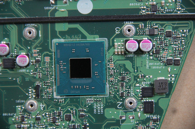 For ASUS X551MA Original  laptop motherboard  with N2830 CPU  through comprehensive work perfect