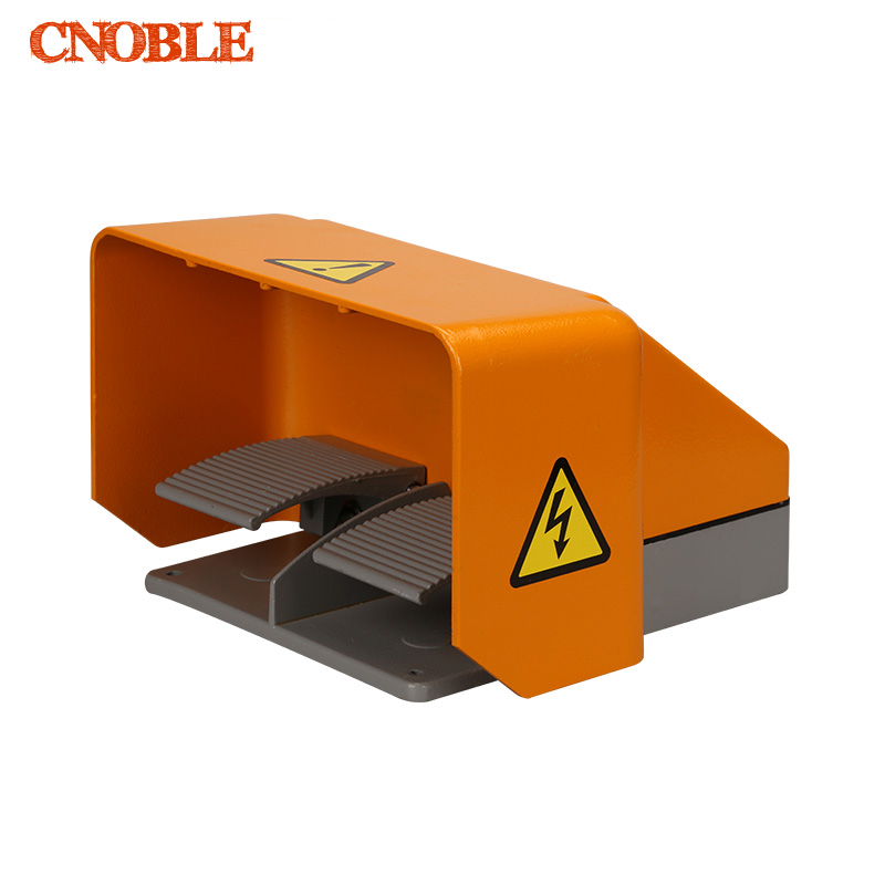 YDT1-18 Foot Switch Pedal Foot Control Switch  380V 6A double pedal use for bending machine punch wholesale price foot control pedal for welding machine