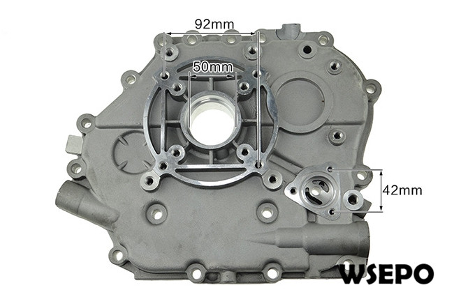 Chongqing Quality! Crank Case Side Cover for 188F 11HP Air Cooled 04 Stroke Diesel Engine,6KW~7KW Generator Parts cover co164 04