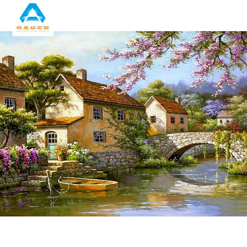 Aliexpress.com : Buy 5D DIY Diamond Painting Farm house