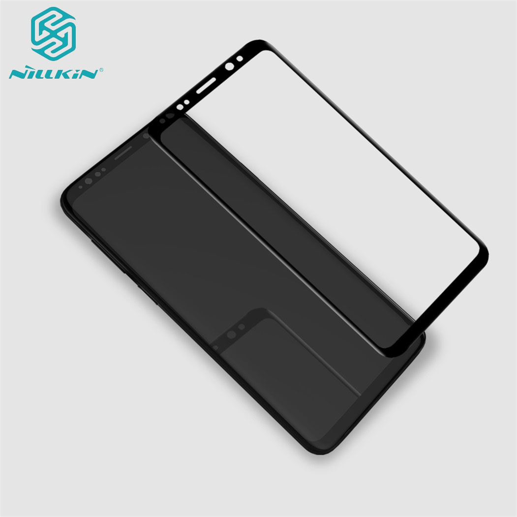 For Samsung Galaxy S9 S8+ S9+ Plus Tempered Glass Nillkin 3D CP+Max Anti-Explosion Full Screen Protector Glass For Samsung S9