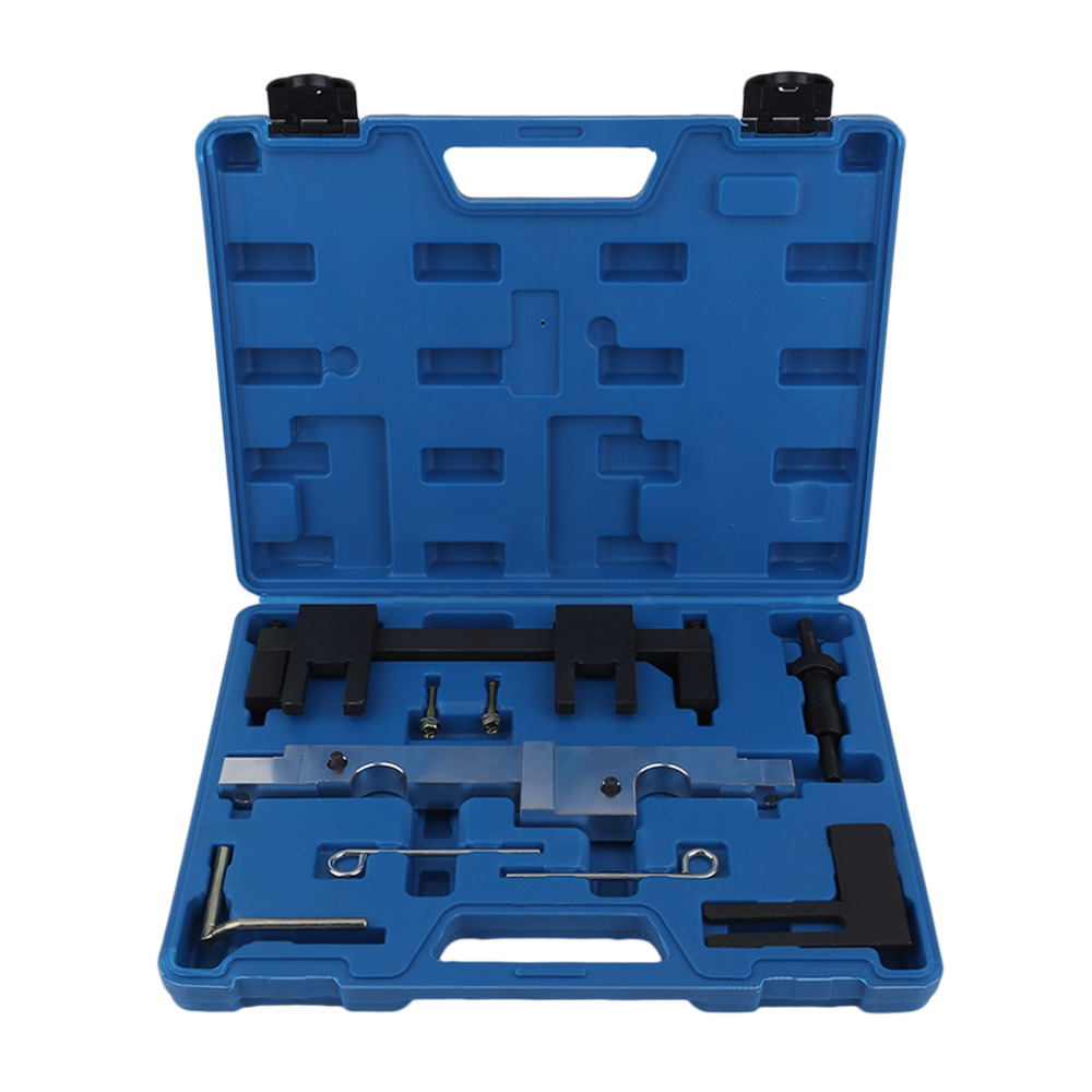 Professional Hand Tools Engine Timing Tool Kit For BMW Timimg Repair Tools Engines Camshaft Timing Tool Set Kit 2018 6pcs set vag timing toolkit for vw audi skoda 1 0 1 2 1 4 tsi tgi automotive engine timing camshaft car repair tool kit
