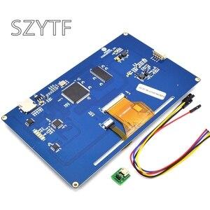 Image 3 - Nextion 7,0 дюйма TFT сенсорный экран 800x480 UART HMI умный ЖК модуль панель дисплея для Raspberry Pi