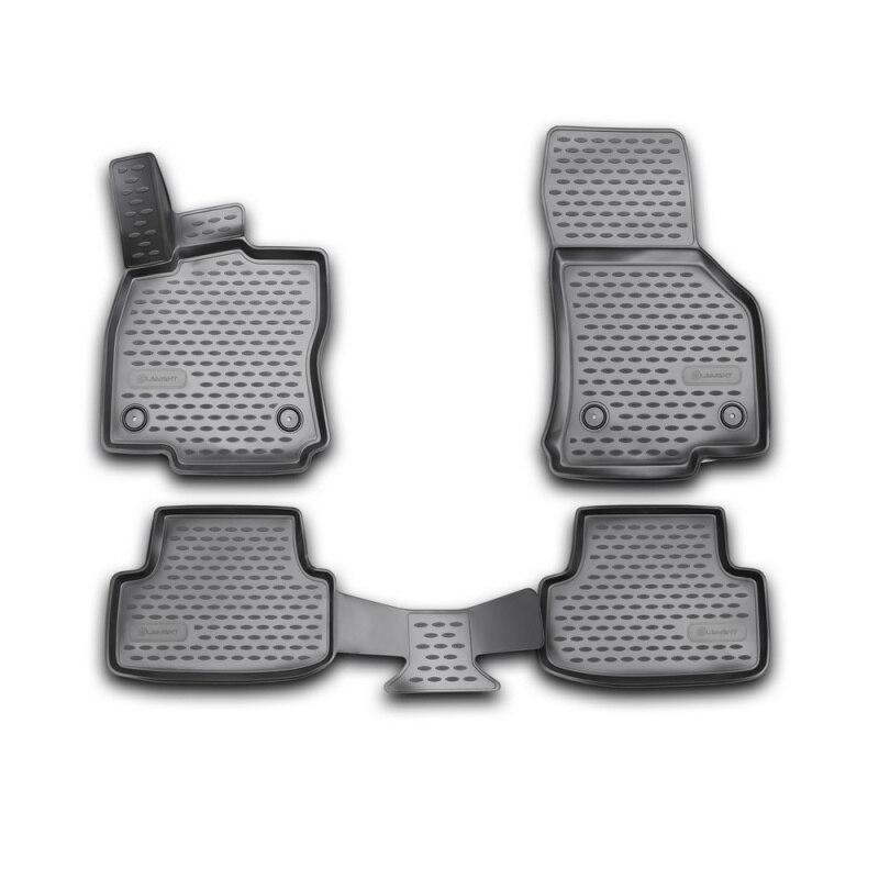 Коврики для Volkswagen Golf 7 2012 ~ 2019 ковры Нескользящие полиуретановые грязезащитные внутренние аксессуары для стайлинга автомобилей