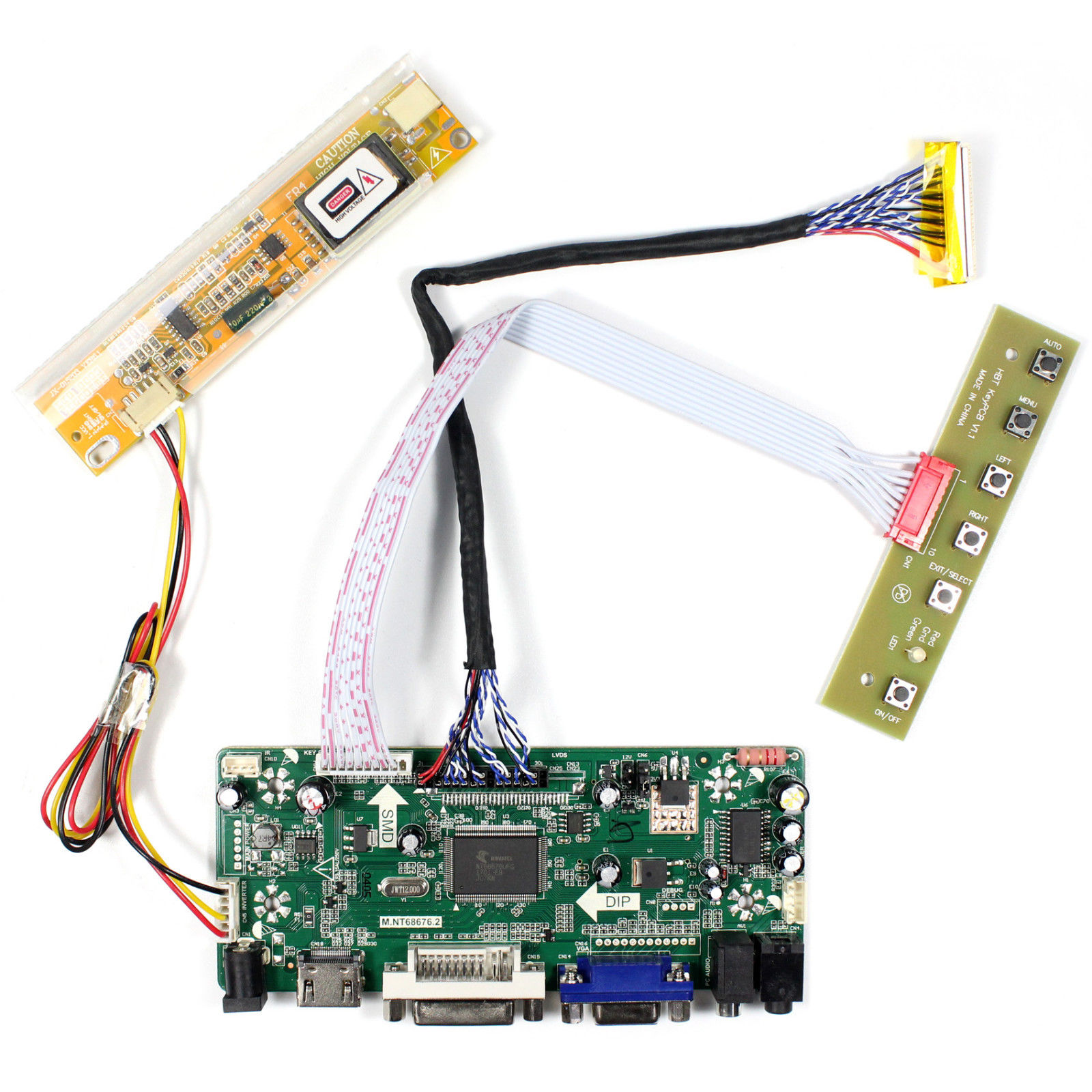 Latumab HDMI VGA DVI Audio LCD Driver Board For 17