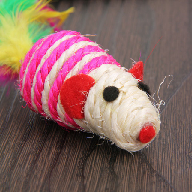 Cute Hemp Cat Mouse Toy for your Hippy Cat | Cat Toys