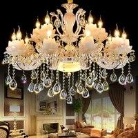 Gold Crystal Chandelier Luxury Living Room Decoration Lamp Dining Room Chandelier Lighting Modern Led Chandeliers Kitchen