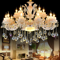 Gold Crystal Chandelier Luxury Living Room Decoration Lamp Dining Room Chandelier Lighting Modern Led Chandeliers Kitchen
