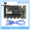 Latest 3D printer MKS Gen V1.4 control board Mega 2560 R3 motherboard RepRap Ramps1.4 compatible, with USB