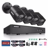 ANNKE 4CH 960H HDMI DVR 800TVL In Outdoor IR CUT Home Security Camera System
