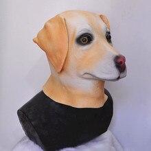 Popular Latex Animal Dog Mask Realistic Funny Labrador