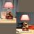 Fonógrafo Retro Sala de Crianças Lâmpada De Mesa 220 v Na Secretária Levou E14 Botão Interruptor Lâmpada de Mesa levou Criança Lâmpada de Mesa Luz de Leitura Cama