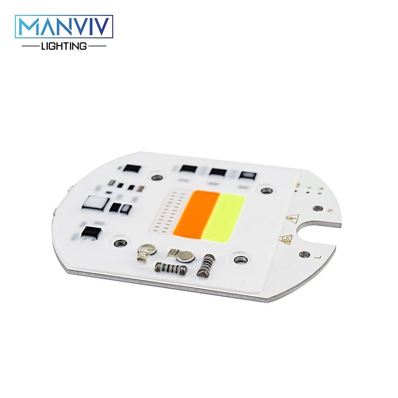 цена на LED RGB COB Chip AC 220V 240V 30W Smart IC No Driver For LED Floodlight DIY Outdoor Decoration Red Green Blue Alternation Lamp