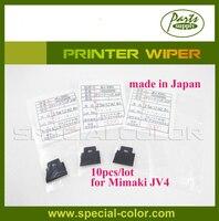 10 шт./лот Mimaki JV4 стеклоочиститель принтер (Сделано в Японии) на водной основе DX4 принтер wipper