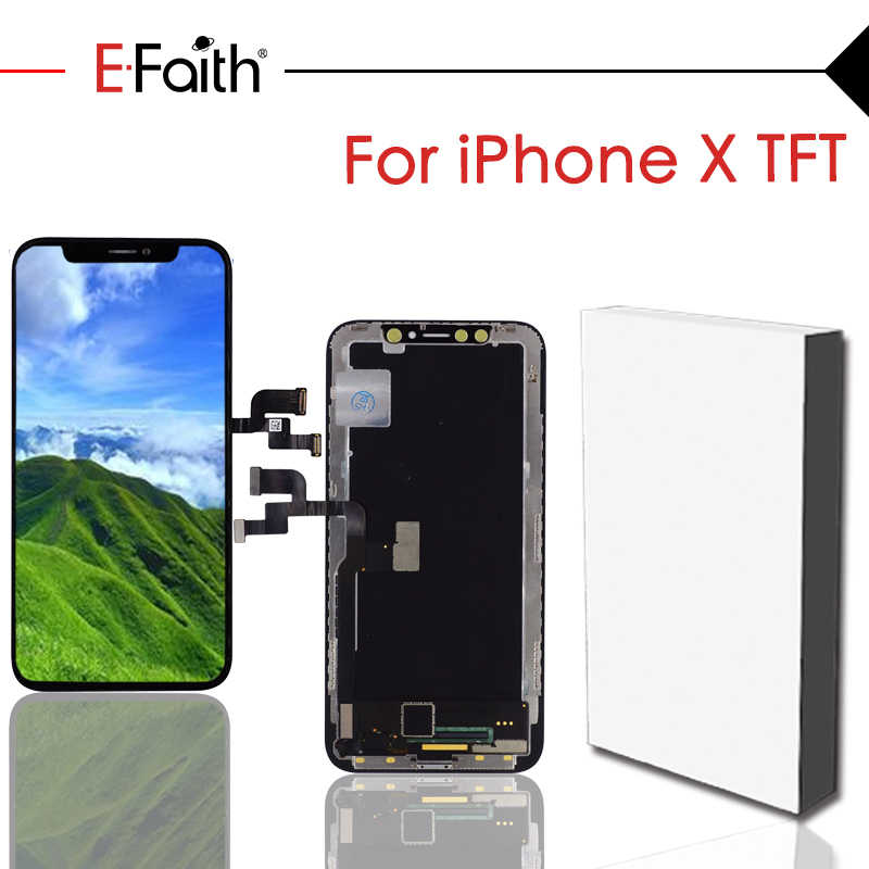 official photos 1aff9 eaaa6 EFaith A+++GX OEM AMOLED Quality LCD Replacement or Display for iPhone X  OLED LCD with Touch Screen Digitizer Assembly Free DHL