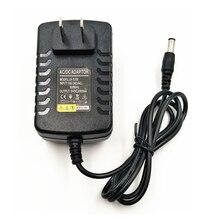 """200 יחידות בארה""""ב האיחוד האירופי 5 v DC 2000mA מוסדר אספקת חשמל 2A מיקרו USB מטען קיר מתאם Tablet PC מחשב כף יד 3.5*1.35 5.5 מ""""מ * 2.5 סיטונאי"""