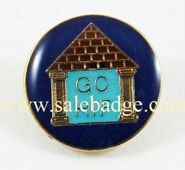 Souvenir letters pins enamel badges