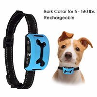Dog Bark Collar For Small And Medium Dogs Safe Vibration Training Pet Excessive Barking Simple Anti
