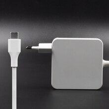 87 Вт USB-C адаптер питания type-C зарядное устройство с 1 м USB-C кабель для зарядки