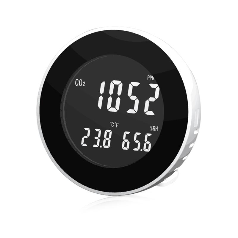 HT-501 3 en 1 Portable CO2 Mètre Thermomètre Hygromètre Numérique Fuite De Gaz Détecteur Analyseur CO2 Moniteur Testeur Nouveau
